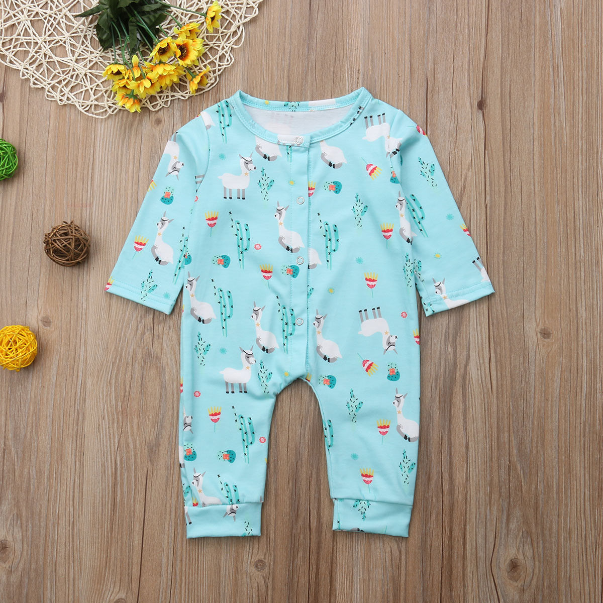 a4b3800be Pudcoco Infant Newborn Baby Boy Girl Jumpsuit Romper Clothes ...
