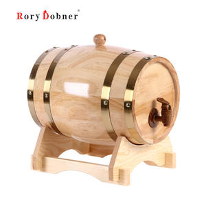 Rory Dobner Oak Brewing Decorative Wine Barrel Keg Wooden