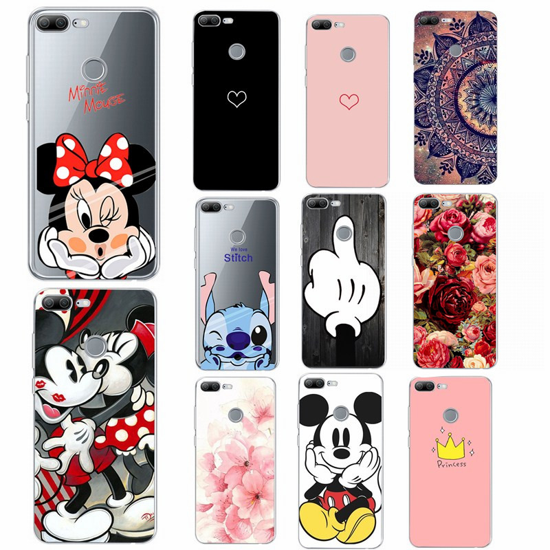 Transparent <font><b>Case</b></font> On For Huawei <font><b>Honor</b></font> <font><b>9</b></font> <font><b>Lite</b></font> <font><b>9</b></font> Animal Pattern <font><b>Case</b></font> For Huawei P20 <font><b>Lite</b></font> Pro P Smart Enjoy 7s P10 <font><b>Lite</b></font> Soft Cover image