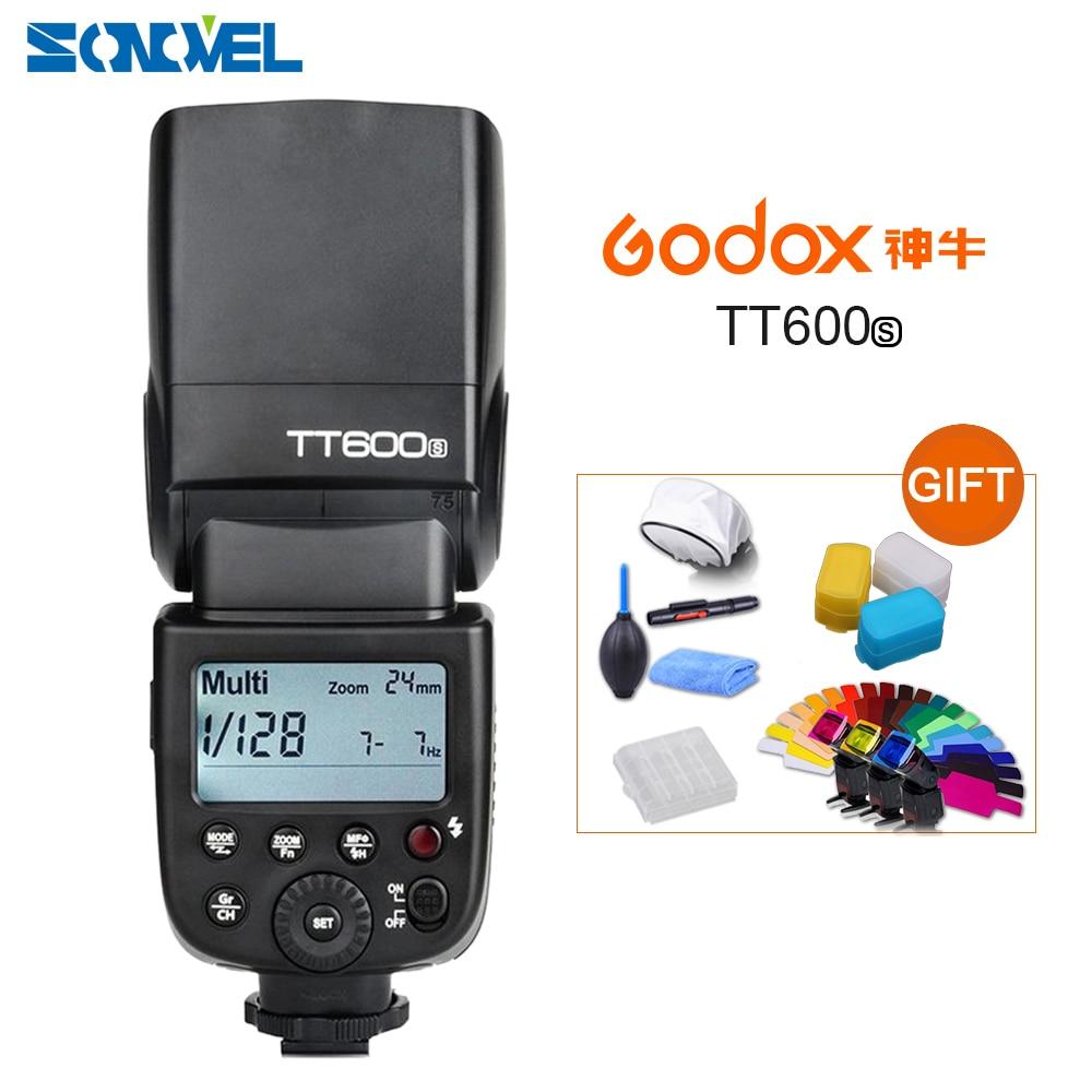 Godox TT600S GN60 2 4G Camera Flash Speedlite for Sony A7II A7 A7r A7s A7RII A7SII
