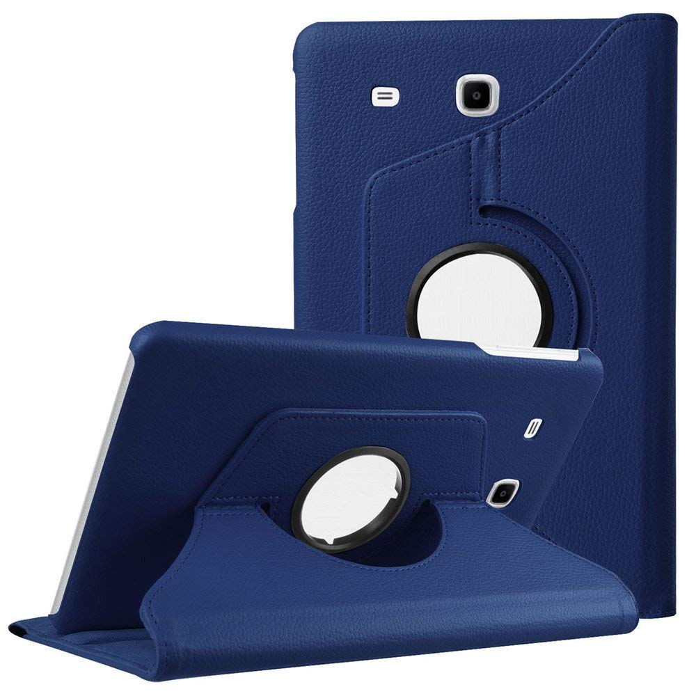 купить Funda Capa Tab E 9.6inch T560 T561 Case Cover For Samsung Tab E 9.6 SM-T560 Tablet 360 Degree Rotating PU Leather Flip Case по цене 379.43 рублей