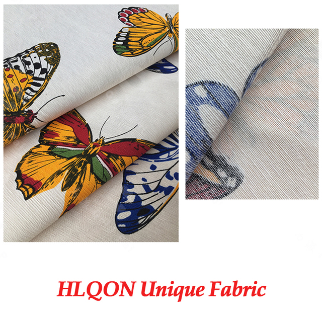 100% cotton sateen stretch French Butterfly fabric for sewing women  clothing upholstery tissue wedding dress c33d65d8f