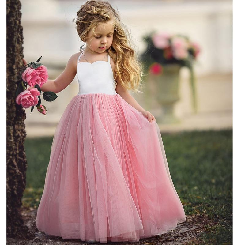 2017 d'été costumes Filles partie Robes tutu Princesse robe robes de festa meninas pour enfants