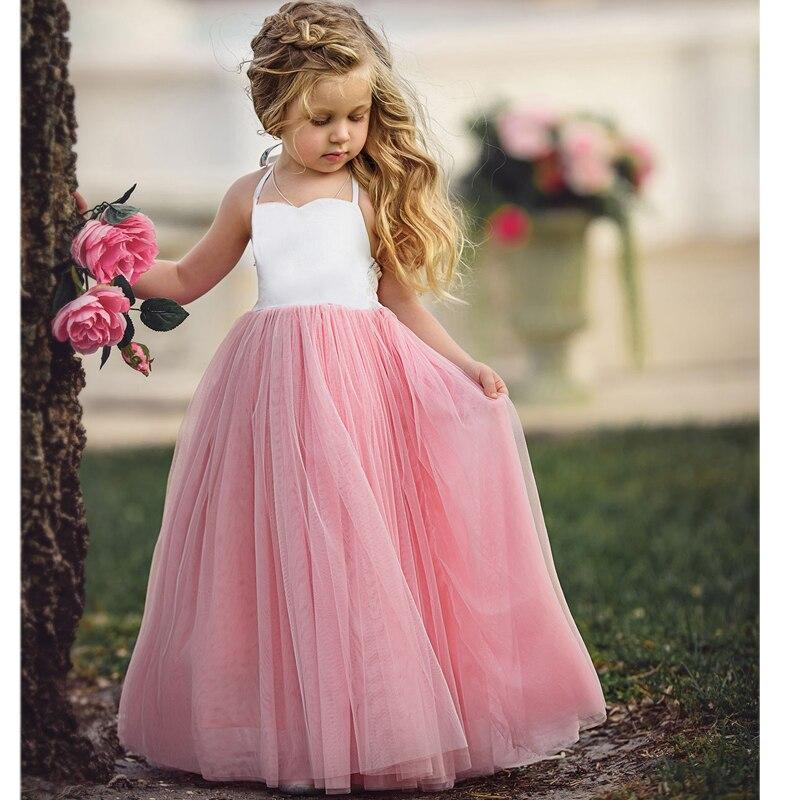2017 summer costumes Girls party Dresses tutu Princess dress vestidos de festa meninas for children