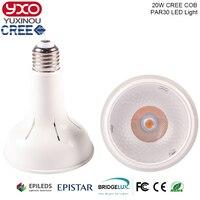 1PCS E27 20W PAR30 CREE LED Spot Light Bulb Lamp Par30 Warm White Cool White White