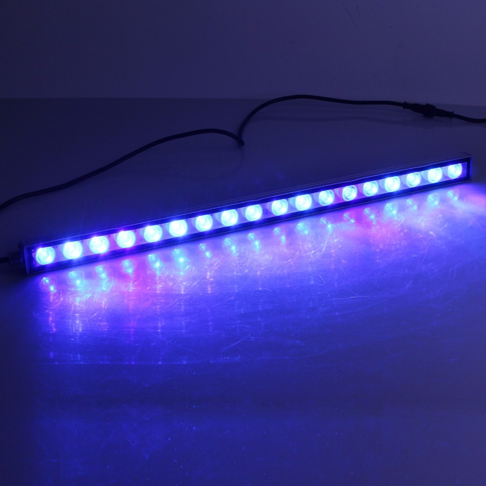 54W Waterproof LED Aquarium Light For Reef Coral Fish Growth Led Bar Light For Marine Aquarium Creature Suitable For Tank