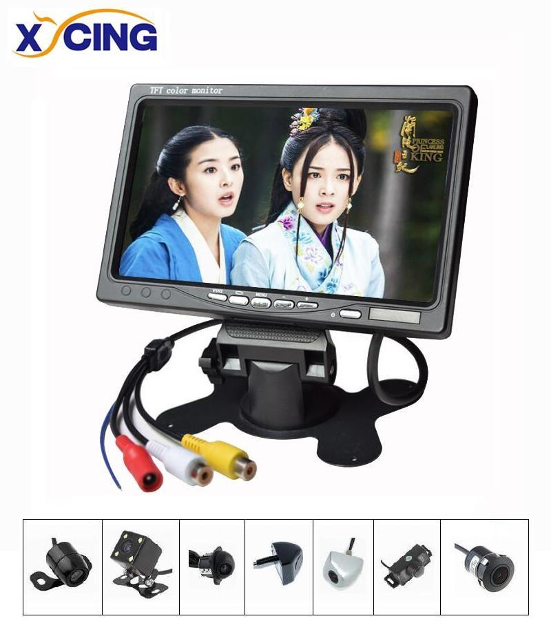 XYCING New RVC093 Sets 7 inch TFT LCD Screen 800 480 Pixel 2 AV Input Car