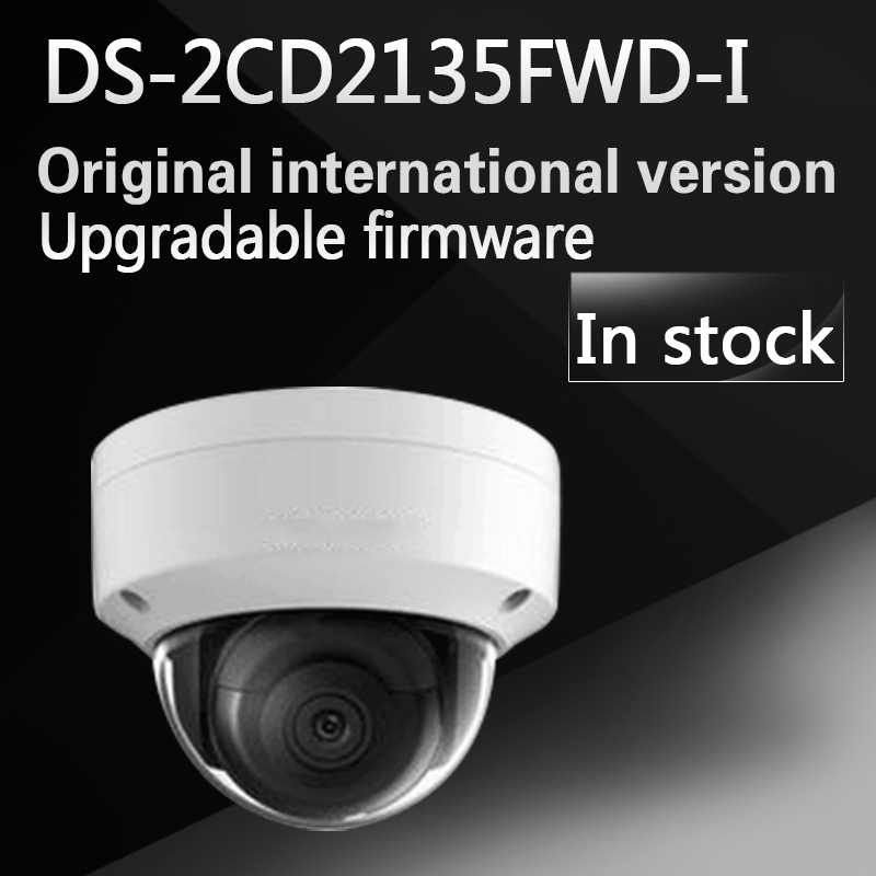 In stock free shipping  english version DS-2CD2135FWD-I replace DS-2CD2135F-I 3MP Ultra-Low Light Network Dome Camera free shipping in stock new arrival english version ds 2cd2142fwd iws 4mp wdr fixed dome with wifi network camera