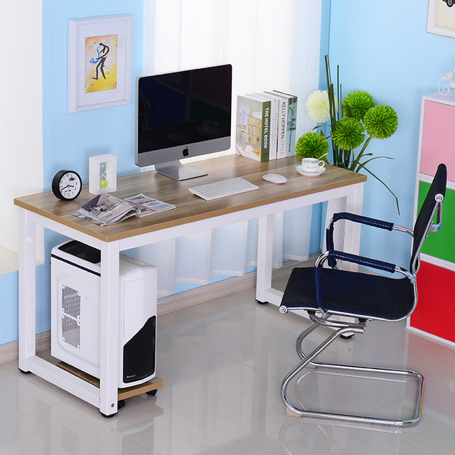 Simple Desktop Computer Desk Book A Table Home Minimalist Double