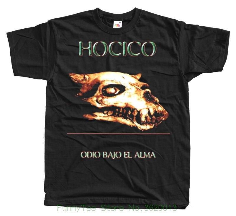 Группа одио Бахо Эль-Алма футболка S-5XL черный 100% хлопок