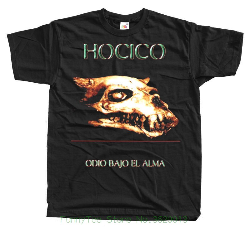 Hocico Odio Bajo El Alma T Shirt S - 5xl Black 100% Cotton ...