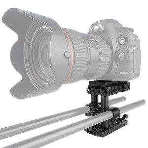 Image 5 - NICEYRIG سريعة الإصدار بلايت كما ستستهدف الجبن لوحة 15mm قضيب سريعة تزوير لوحة اللوح الأساس رفع 15mm السكك الحديدية قاعدة كاميرا لوحية تزوير