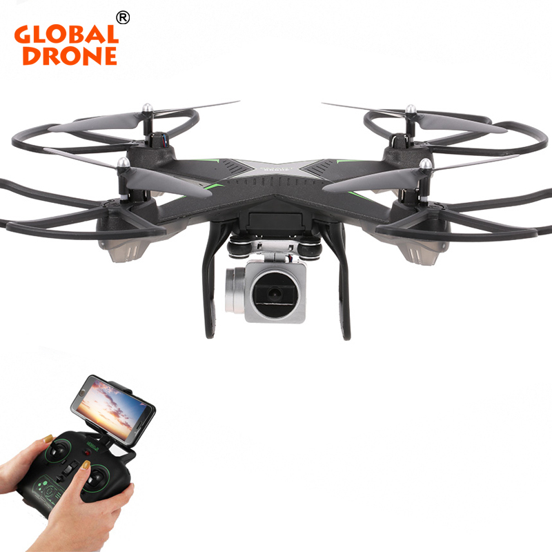 Global Drone Wifi FPV Quadrocopter RC Drones with Camera 1080P HD 2.4G 6-Axis High Hold Mode Quadcopter VS SYMA X5SW SG600