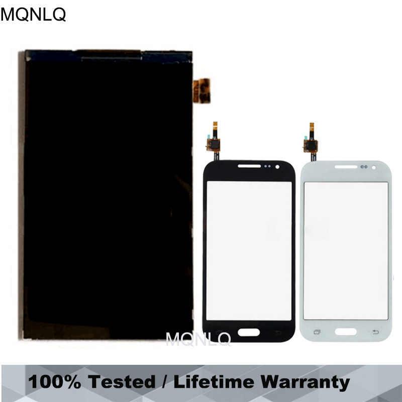 لسامسونج غالاكسي الأساسية رئيس G360 G360H G361 G361F شاشة إل سي دي باللمس شاشة الزجاج وحدة الاستشعار محول الأرقام MQNLQ