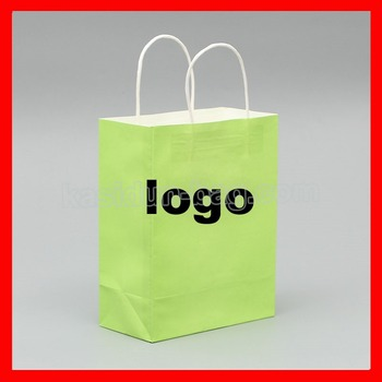 (1000pcs/lot) Custom logo paper gift bag 1000pcs lot bc549c