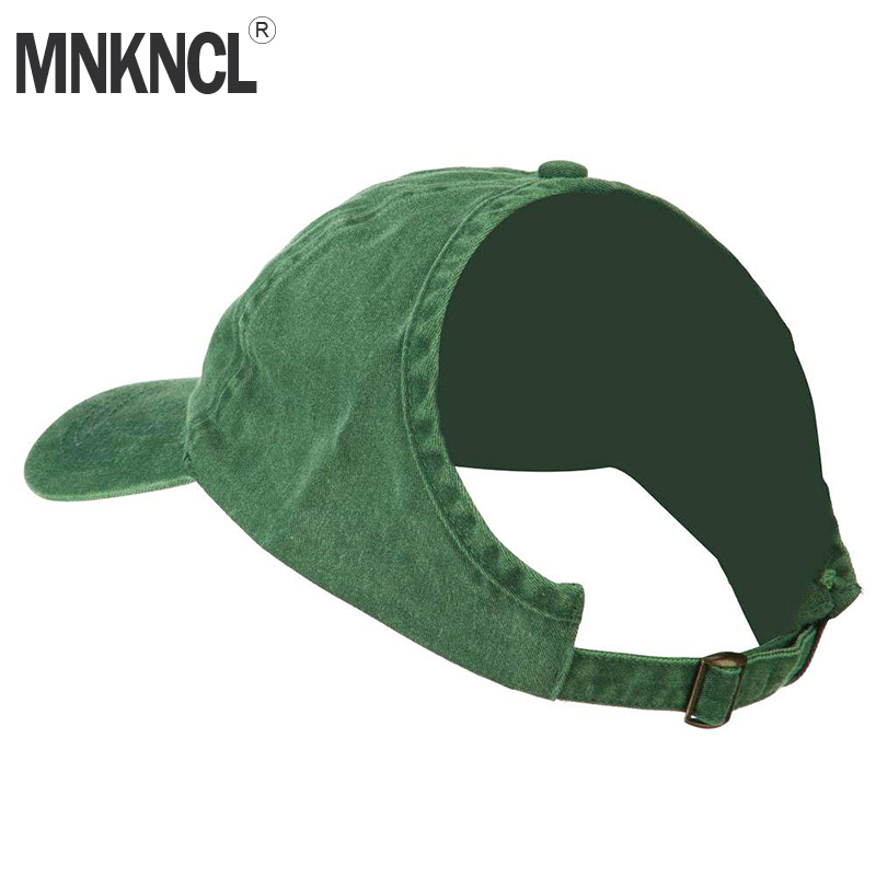 MNKNCL Women's Half-Empty Top Sunshade   Baseball     Cap   Ponytail   Cap   Summer Messy Bun Sports Hat Women   Caps