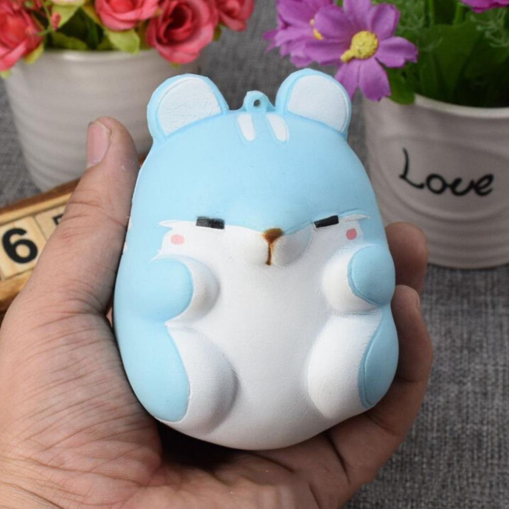 Squeeze Squishy Simulation Hamster Fidget Toy Slow Rising For Anti Stress Puzzle Anxiety For ADHD Adult Home Decoration 4 Styles