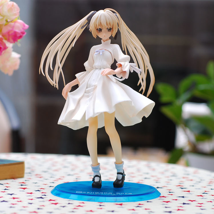 20cm Kasugano Sora Yosuga no Sora Sex Girl 1/8 Tailor PVC Action Figure Model Toys Collection Free Shipping