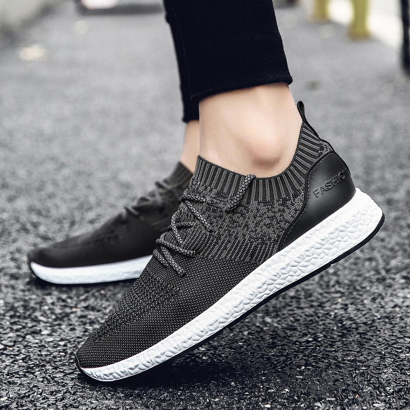 2018 New Men Summer Mesh Shoes Loafers lac-up Water shoes Walking lightweight Comfortable Breathable Men tenis feminino