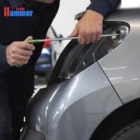 PDR tools 4 pcs green PDR Rods Hooks Car Crowbar auto body Dent repair tools