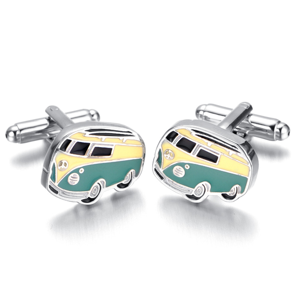 Vintage Cufflinks for Mens Jewelry Shirt Cufflinks, Car C061
