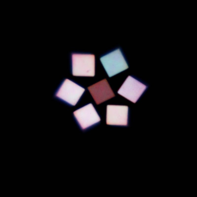 Купить с кэшбэком RGBW mini 7X15W LED moving head zoom wash stage light dmx512 dj club disco party disco lighting lcd display kaleidoscope effect