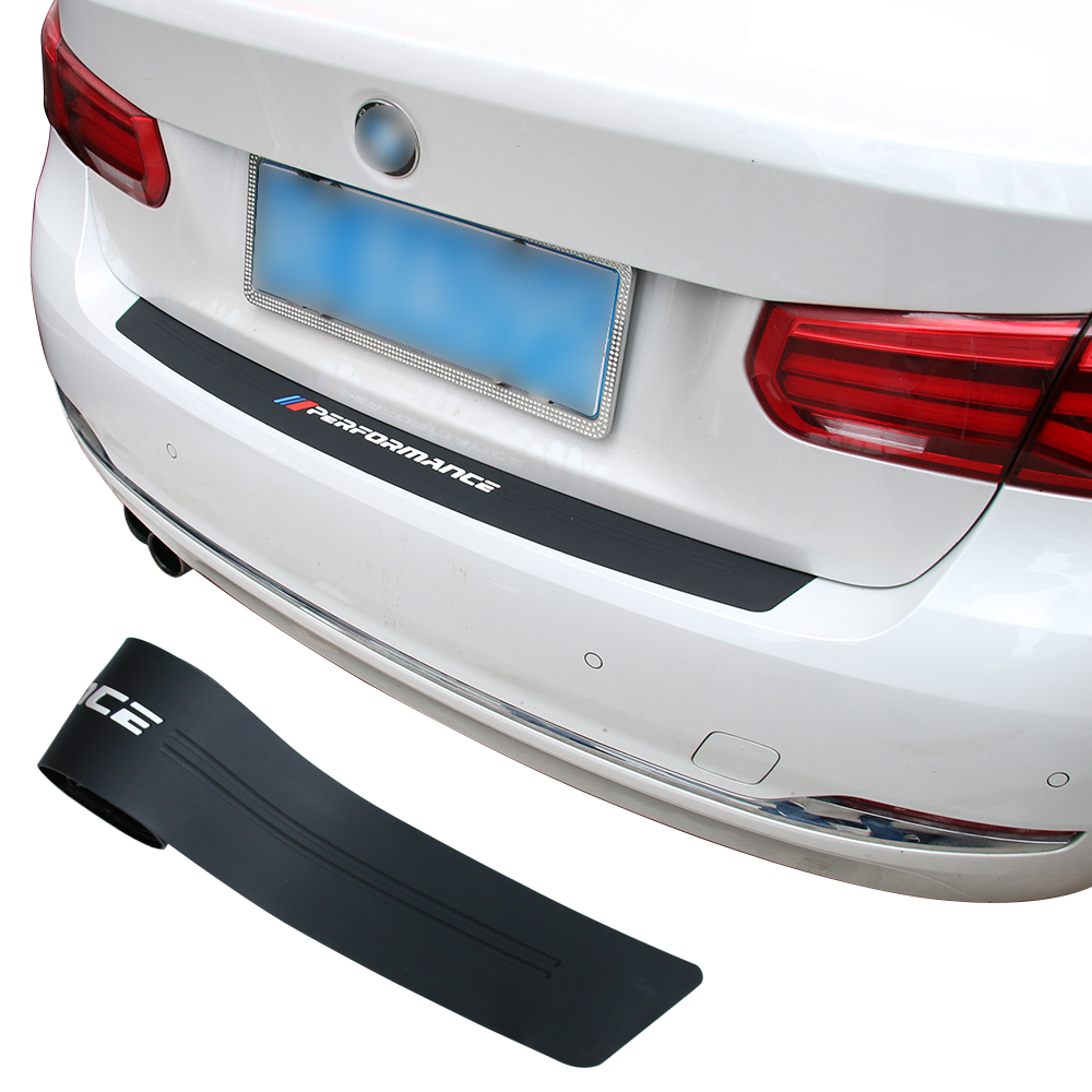 2018 New Performance Rubber Car Rear Bumper Trim Guard Plate Protector Sticker For bmw e39 e46 e90 f30 f10 f20 z4 x1 g30 f33 e60