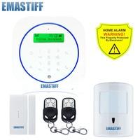 Free shipping.Android App Wireless GSM Home Alarm System SIM Smart Home Burglar Security Alarm System Kit 10kg pet PIR Sensor