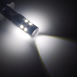 Image 5 - ANGRONG 2x H3 453 ampoules, phare projecteur LED haute puissance, lumière anti brouillard de jour, blanc (CA305)