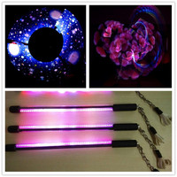 3Pcs 60 Pixels Led Visual Poi Full Color Lamp LED Programmable Stick USB Graphic Poi