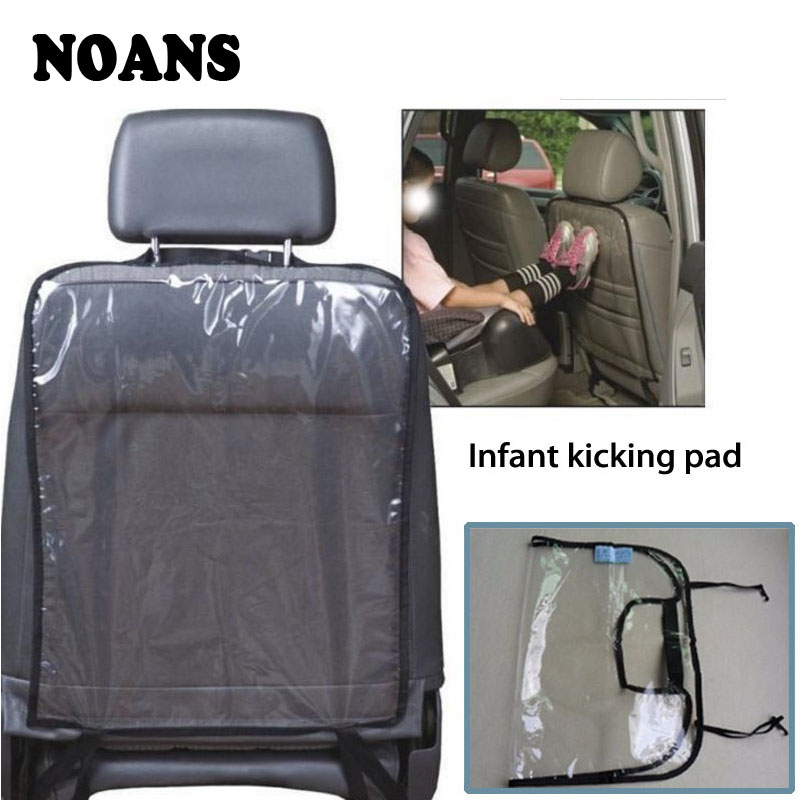NOANS Universal Car Backseat Protector Cover Mat Anti Child Kick Pad Anti Stepped Dirty For Ford Lada <font><b>Mitsubishi</b></font> Renault Citroen image