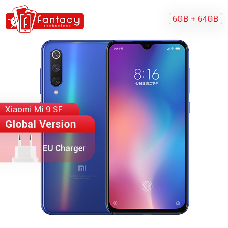 "Global Version Xiaomi Mi 9 SE Mi9 SE Snapdragon 712 6GB 64GB 5.97"" AMOLED FHD+ Screen Smartphone 48MP Triple Cameras NFC OTA(China)"