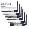 DMX512 беспроводной передатчик приемник DMX контроллер света 2 4G коммуникационное расстояние 400 м Вечеринка сценическое освещение US Spot