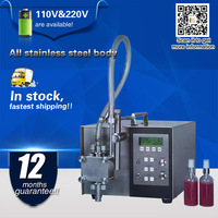 Цифровой розлива столешница разливочная машина полуавтоматический наполнитель для нефти, шампунь, духи