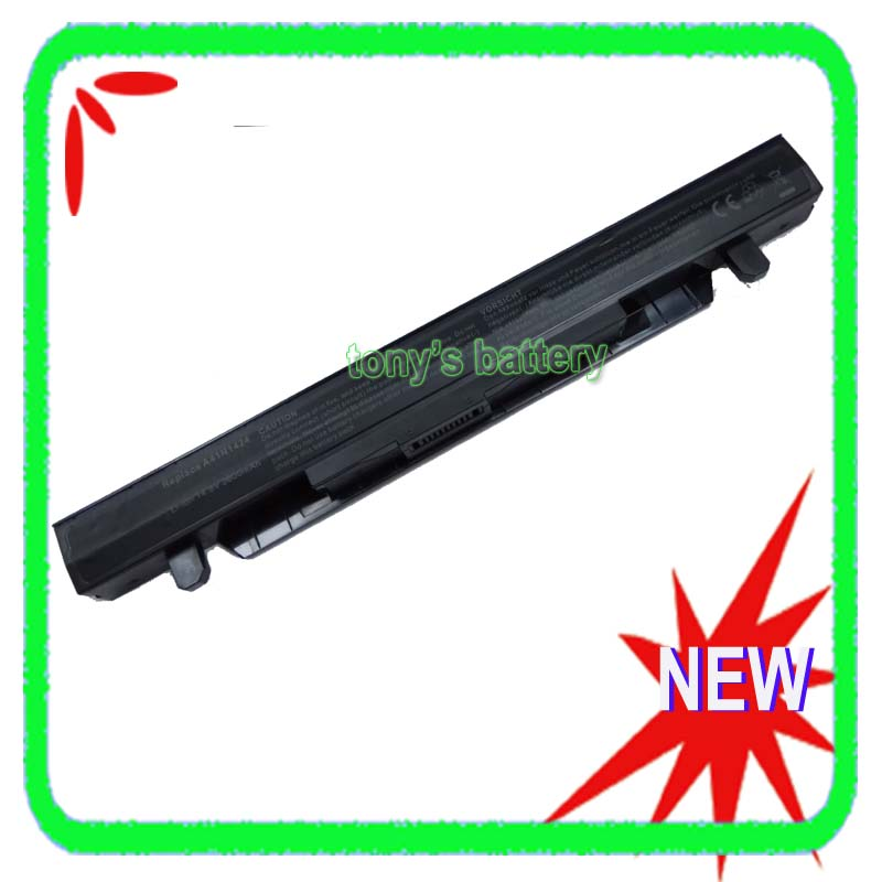 New A41N1424 Battery For ASUS ROG ZX50 ZX50J ZX50JX GL552 GL552J GL552V GL552VW 14.8V 2600mAh ноутбук asus gl552vw cn866t