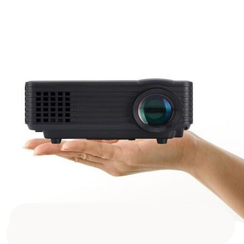 3d Portable 1080p Hd Led Mini Projector Multimedia Home: Free Shipping! 800llumens Home Theater Video LCD Digital