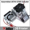 Высококачественный новый продукт собраны JIETAI GT9S экструдер GT044 0.3 мм nozzle1.75mm накаливания поддержка