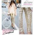 South Korea act as purchasing agency missp cocopa sequins women summer leggings woman pants show thin buttock leggins