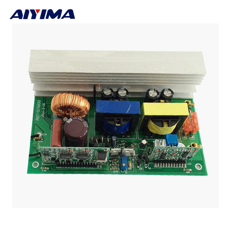 Aiyima 1 pz Inverter 12 v A 220 v 1000 w Invertitore Puro Dell'onda di seno Invertitore Auto Circuito di Bordo 145 * 91mm