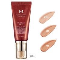 Best Korea Cosmetics MISSHA M Perfect Cover BB Cream 50ml SPF42 PA+++ (NO.13 NO.27 NO.31) Foundation Makeup Perfect BB Cream
