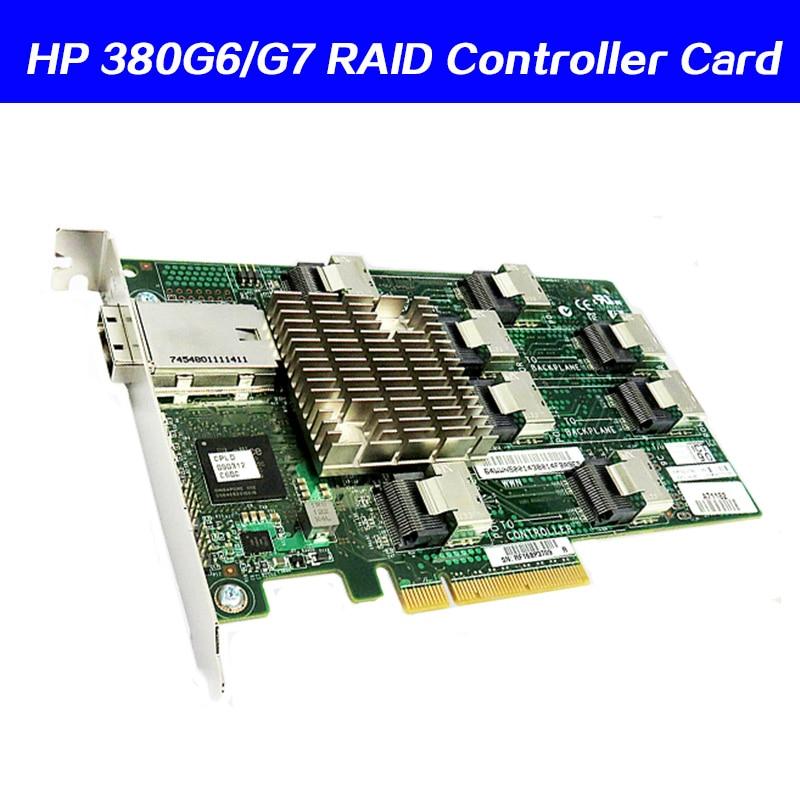 468406-B21 SAS Raid Expansion Card 487738-001 468405-002 For HP380G6 G7  Servers SAS Expansion Card External HBA Card