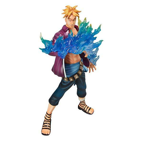 26cm Japanese anime figure One Piece Action Figure Marco Doll PVC ACGN Garage Kit Toys Brinquedos Anime