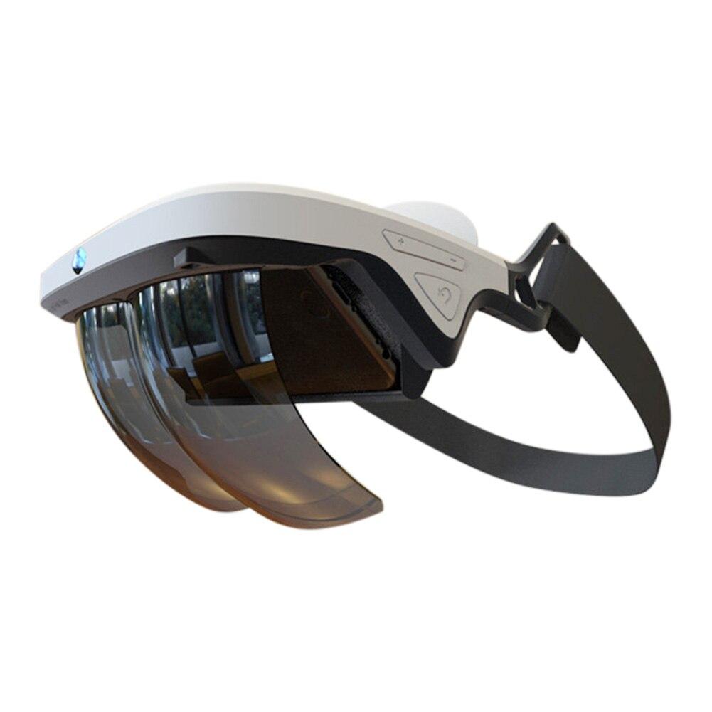 все цены на Newly Holographic Effects Smart AR Box Augmented Reality Glasses Helmet 3D Virtual Comfortable