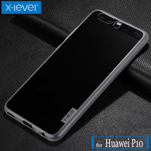 X Level for Huawei P10 Case X-Level Antislip Ultra Thin Matte Soft Silicone TPU Phone Back Protective Full Cover for Huawei P10