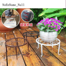 NoEnName_NullEuropean iron single layer Pot Trays fashion indoor landing flower stand quality  10mmX10mm thickening  thickening