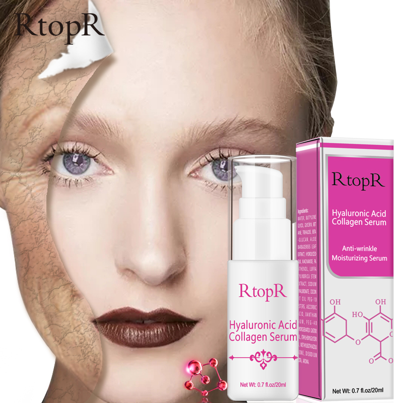 Hyaluronic Acid Collagen Face Serum Acne Treatment Anti Wrinkle Skin Care Essence Face Care Whitening Anti-Aging Facial Serum fulljion aloe hyaluronic acid moisturizer aloe vera pure liquid essence serum face care acne treatment whitening anti wrinkle