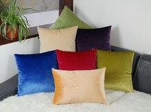 ESSIE CASA 14 colores disponibles de Alta gama de fundas de colchón funda de almohada de felpa de terciopelo de franela verde azul rojo rosa púrpura marrón