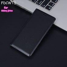 FDCWTS housse en cuir étui pour Samsung Galaxy J1 Ace J110 J110F J110H J110M étui de téléphone portefeuille mince avec pochette porte carte