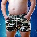 Pata de urso 2016 Plus Size Board Shorts dos homens da Garra de Urso Urso Gay Boxers Troncos Roupa Interior Projetado Para Suportar 3 Cores M L XL XXL