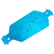 HSP 04001 Metal Aluminum Chassis Upgrade Parts For 1/10 RC Buggy XSTR Monster Truck BRONTOSAURUS 94111 Redcat Volcano EPX